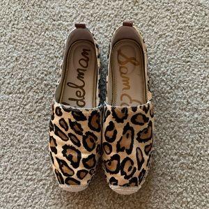 Sam Edelman Leopard Khloe Slip-On Espadrille